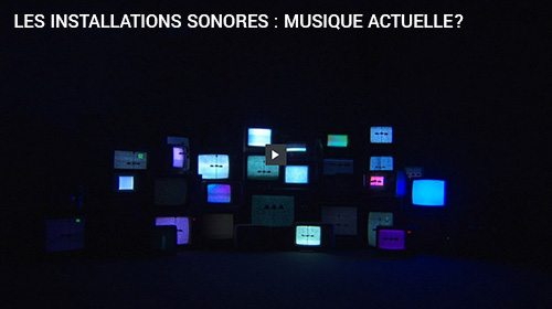 Installations sonores 2014